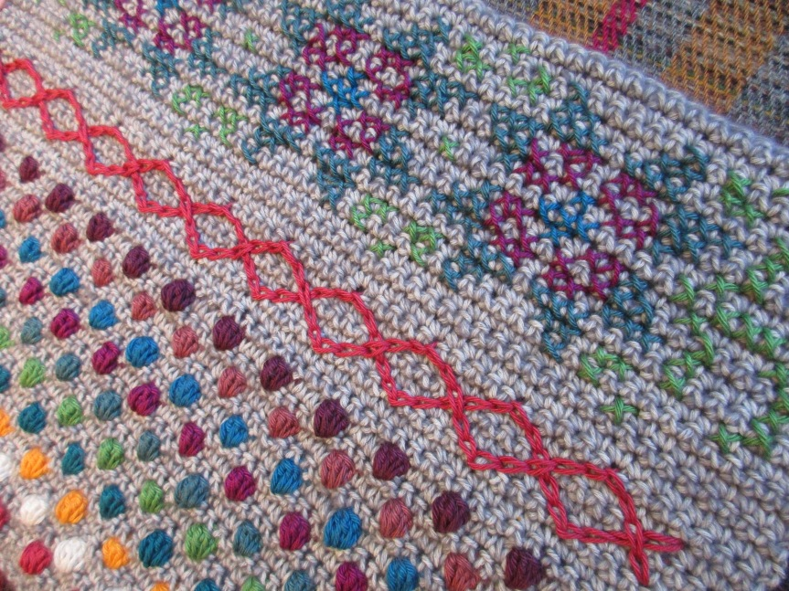 'Crochet a long' sofar
